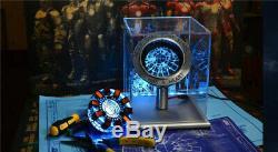 Iron Man Arc Reactor MK1 Tony Stark Heart USB DIY Modell Abbildung Film Prop COS