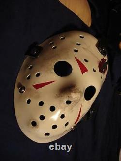 Jason Creation Station Friday 13th 4 Hockey MASK HALLOWEEN HORROR prop Replica