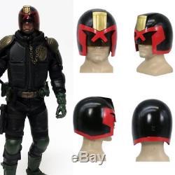Judge Dredd Helmet Cosplay Costume Props Mask Full Head Adult Halloween Party