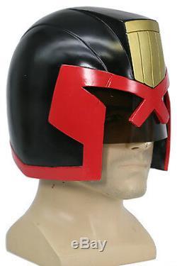 Judge Dredd Helmet Movie Costume Replica Mask Cosplay Props Halloween Xcoser