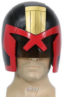 Judge Dredd Helmet Resin Cosplay Prop Halloween Party Costume Adult Mask Xcoser