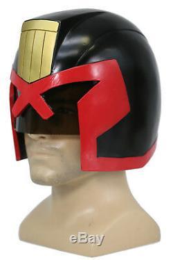 Judge Dredd Helmet Science Fiction Film Memoribilia Mask Halloween Cosplay Props