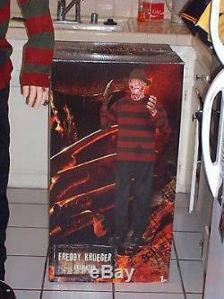 life size animatronic freddy krueger halloween prop awesome used