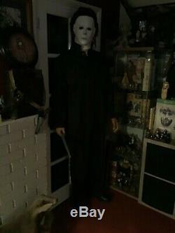 LIFE SIZE Michael Myers Halloween Movie Prop Horror Figure Statue Cosplay