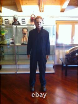 LIFE SIZE Michael Myers Halloween movie prop statue mask custom horror figure