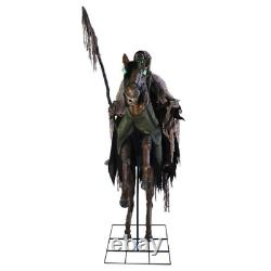 LIFE SIZE Reaper's Ride Animated Halloween Prop Horse Skeleton Sleepy Hollow NEW