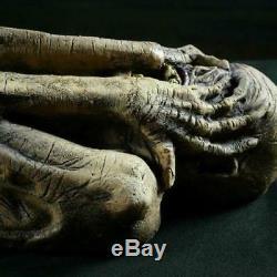 LIFESIZE 5' LATEX Ancient Mummy ALIEN CORPSE SPIRIT HALLOWEEN PROP HAUNTED HOUSE