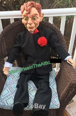 Large 47 Goosebumps Slappy Dummy Doll Poseable Prop Horror Puppet RL Stine New