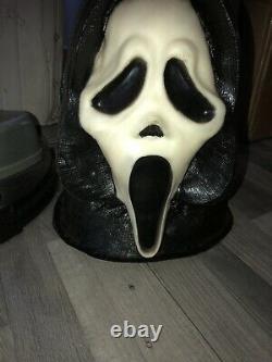 Latex Halloween Scream Bust Halloween Prop Movie 1996 Rare Htf Gemmy Movie Icon