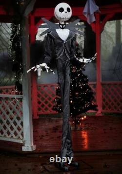 Life Size ANIMATED JACK SKELLINGTON Halloween Prop HAUNTED HOUSE