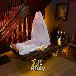 Life Size Animated JOHN DOE Halloween Prop HAUNTED HOUSE