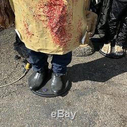 Life Size Animatronic Leatherface Gemmy Texas Chainsaw Massacre