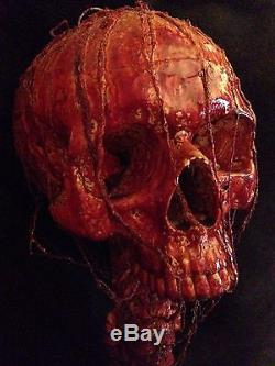 Life Size Bloody Skull Spine Prop Horror Gore