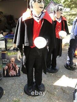 Life Size Cout Vigor Rare Halloween Prop Spirit Gemmy Morbid Magic Power Htf