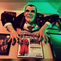 Life Size Dracula Vampire Bust Prop Universal Monsters Figure Horror Halloween