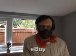 Life Size Hannibal Lecter Gemmy Prop
