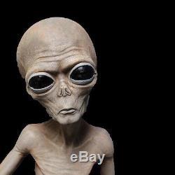 Life Size Roswell ALIEN BODY Specimen Area 51 Prop Halloween Decorations