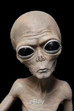 Life Size Roswell ALIEN BODY Specimen Area 51 Prop Halloween Decorations