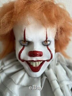 Life Size Spirit Halloween Prop Pennywise IT Clown Animatronic Animated FREE ITM