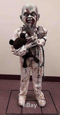 Life Size Zombie Boy Figure Halloween Prop/Decoration Creepy SCARY