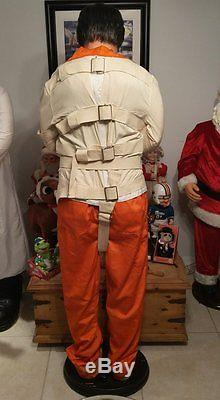 Lifesize 6' Animated Hannibal Lecter Gemmy Halloween Prop VERY RARE