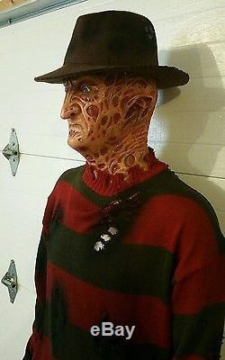 lifesize freddy krueger halloween prop mask bust life size jason voorhees