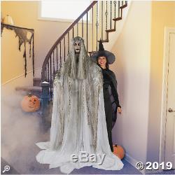 Lifesize Scary Halloween Standing Ghost Girl Haunted House Decor Creepy