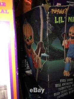 Lil Nester Spirit Halloween Gemmy Rare Htf