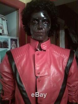Michael Jackson Thriller Zombie Life Size Mannequin