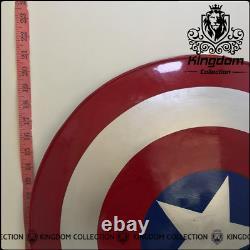 Medieval Captain America Shield Halloween Cosplay Prop Best Steel Metal Shield