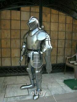 Medieval Props Wearable Templar Suit Of Armour Full Body Halloween Costume Gift