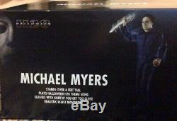 Michael Myers Life size 6 FT Moving Animatronic Horror HALLOWEEN SHIPS TODAY H20