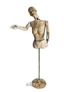 Morbid Enterprises Animated Mannequin Prop Animatronic Halloween Decoration 6ft