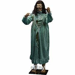 Morbid The Exorcist Animated Reagan Scary Halloween Prop and Decor 2' W x 5' H