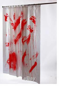 Morris Costumes Decorations & Props Blood Shower Curtain. FW91031