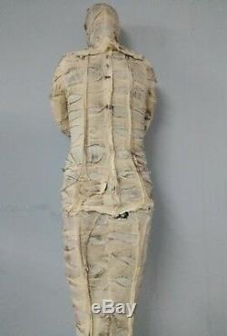 Mummy 6 Ft Halloween Gemmy Animatronic Life Size Prop Motion Activated 6