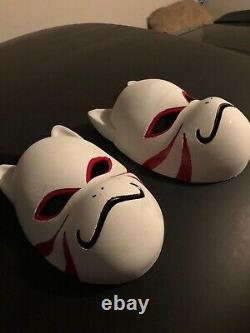 Naruto ANBU Kakashi Cosplay Mask Cat Style Props