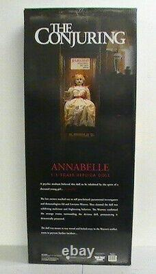 New Trick or Treat Studios and Warner Bros. The Conjuring Annabelle Doll