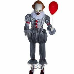 Nib 6 Ft Animated Lifesize Pennywise The Clown From It Halloween Prop Sold Out