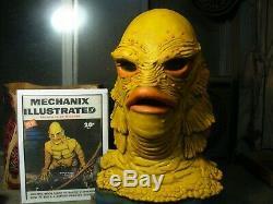 OOAK Don Post Studios Creature A master Mask custom Mechanix Illustrated Tharp