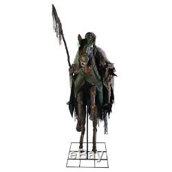 PRE-ORDER! 7 Ft REAPERS RIDE Haunted Horse Animated Halloween Prop Life Size