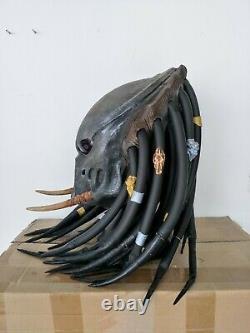 PREDATOR MASK Tracker Latex Helmet Halloween Horror Cinima Cosplay Prop Replica