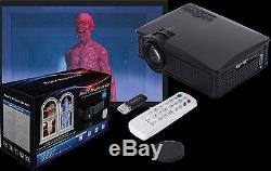 profx projector kit digital halloween decorations video projections effects