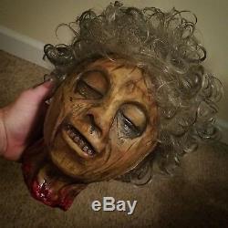 Pamela Voorhees Head Prop Severed Head Halloween