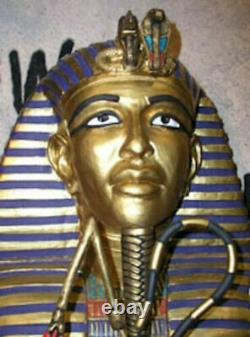 Pharaoh's Coffin (Front only) Halloween Prop Decorative Statue sarcophagus