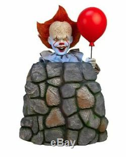 Pre-Order 3 Ft ANIMATED PENNYWISE IT CHAPTER 2 Halloween Prop-MOVES UP AND DOWN
