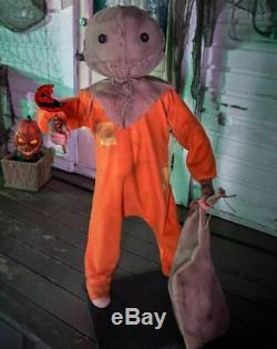 Pre-Order 4.3 Ft ANIMATED TRICK'R TREAT SAM Halloween Prop HAUNTED HOUSE