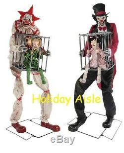 Pre-Order CAGEY CLOWN & ROTTEN RINGMASTER BUNDLE Halloween Prop FREE GIFT
