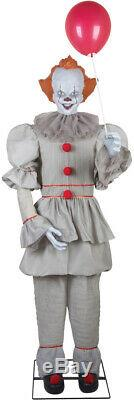Pre-order Halloween Life Size Animated Pennywise It Clown Prop Decoration