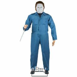 Pre-order Halloween Life Size Michael Myers H2 Animated 6 Ft Prop -gemmy